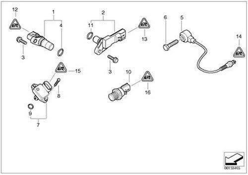 NEW Mini Cooper R52 R53  Convertible Sensor Intake Air Pressure 12 14 0 872 679