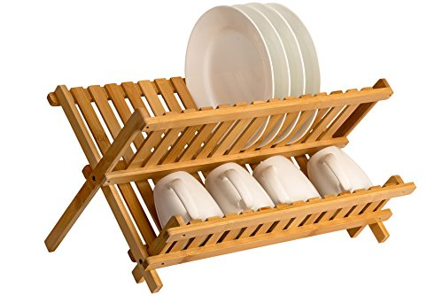 Saganizer wooden Collapsible Compact drainer product image