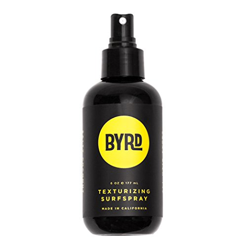 BYRD Texturizing Surf Spray with Sea Salt and Coconut Water - Natural Shine, Frizz Controlling, Beachy Volume | Sulfate Free, Paraben Free | ()