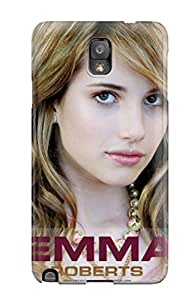 Paul Jason Evans's Shop Galaxy Note 3 Hard Back With Bumper Silicone Gel Tpu Case Cover Emma Roberts?wallpaper