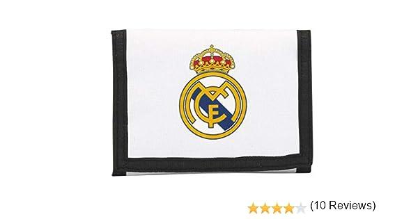 Real Madrid Billetera, equipación 2017/2018 (SAFTA 811754036), Unisex, Blanco, 12 cm: Amazon.es: Juguetes y juegos