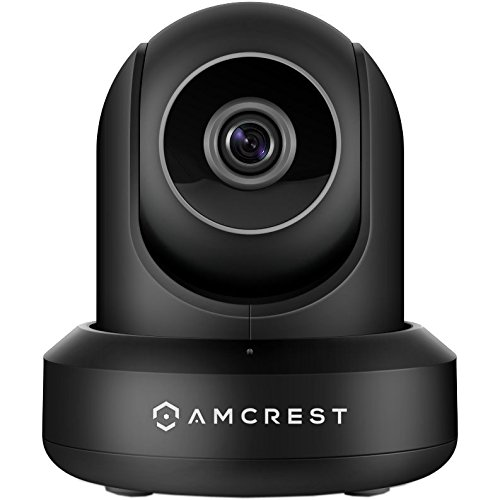 Amcrest ProHD 1080P WiFi Camera 2MP (1920TVL) Indoor Pan/Tilt Security Wireless IP Camera IP2M-841B (Black) by Amcrest