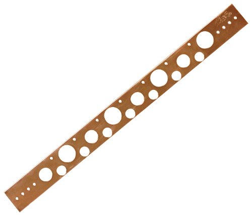 Copper Tube Strap - Sioux Chief Mfg 521-810PK Copper Plated Stub Out Bracket