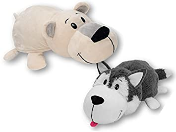 Peluche Flipazoo (Husky / Oso Polar)