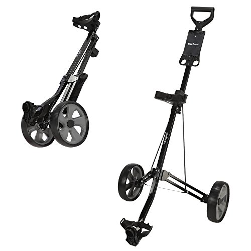 Caddymatic Golf Lite Trac 2 Wheel Folding Golf Cart ()