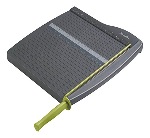 "Swingline Paper Trimmers / Cutters, Guillotine, 12"" Cut Length, 10 Sheet Capacity, ClassicCut Lite, Case of 4 (9312A)"