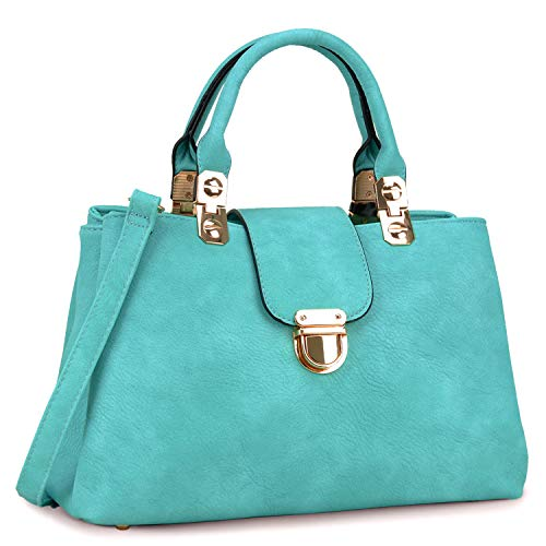 Dasein Women Handbags Top Handle Satchel Tote Purse Ladies Leather Shoulder Bag