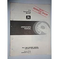 John Deere 272 Grooming Mower (for use on 650 750