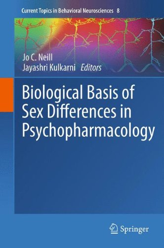 Biological Basis of Sex Differences in Psychopharmacology (Current Topics in Behavioral Neurosciences, Vol. 8)