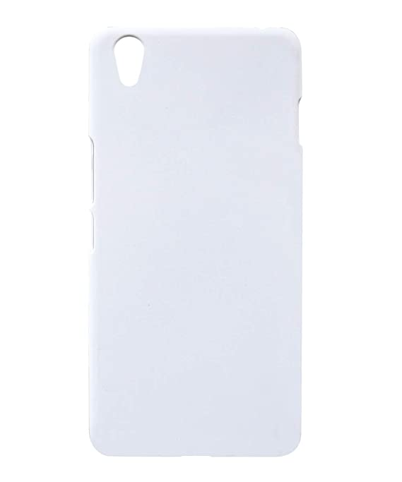 Coverage Plastic Back Cover for OnePlus X  ONE E1003   White