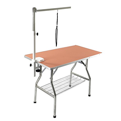 Flying Pig Large Size Super Durable Heavy Duty Dog Pet Foldable Grooming Table (44