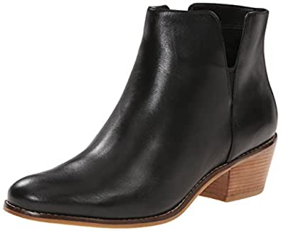 Cole Haan Women's Abbot - Leather Ankle Boots, Black Leather, 5.5 M US