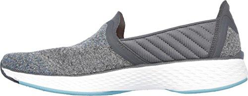 Skechers Go Walk Sport Supreme Slip On Zapatillas de paseo para mujer Gray / Blue