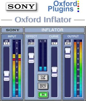 Oxford Inflator (Sony PTL-INFLG2 Oxford Inflator Plug-In for Pro Tools LE)