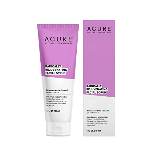 ACURE Radically Rejuvenating Facial Scrub, 4 Fl. Oz. (Packaging May Vary)