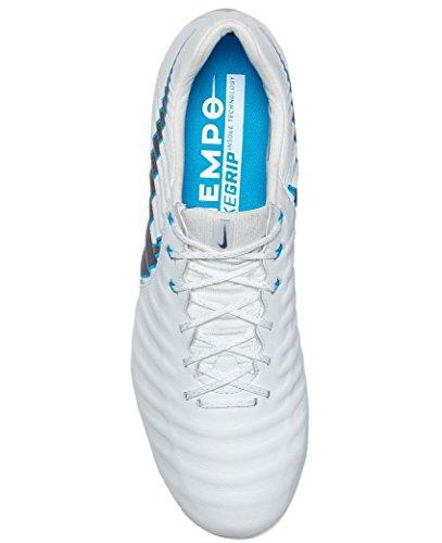 Legend CHR Fußballschuhe Herren WHITE HERO 7 CHROME BLUE Fg Elite NIKE UHAwPqTnn
