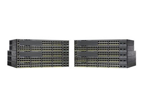 Cisco Catalyst 2960X-48LPS-L - switch - 48 ports - managed - desktop, rack-mountable by Cisco Systems