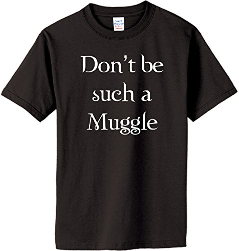 Dont-be-such-a-Muggle-on-Adult-Youth-Cotton-T-Shirt-in-26-colors