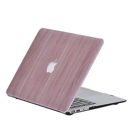 carcasa madera macbook air