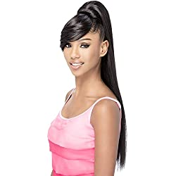 Vivica A Fox Hair Collection BP-Fendy Bang N Pony Yaki Texture New Futura Fiber, Color 2, 6.8 Ounce