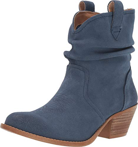Dingo Womens Jackpot Casual Booties Shoes, Blue, 8