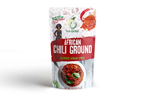 Iya Foods Chili Pepper Ground 5 ounces, Kosher Certified, No Preservatives, No Added Color, No Additives, No MSG