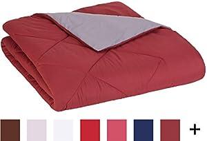 AmazonBasics Reversible Microfiber Comforter by AmazonBasics