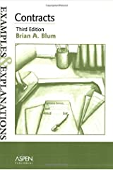 Contracts: Examples and Explanations (Examples & Explanations Series) Paperback