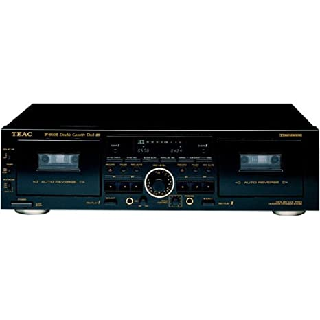 Amazon.com: TEAC w-860r Dual a/r Cassette con Pitch Control ...