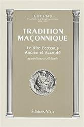 Tradition maçonnique. Le rite écossais ancien et accepté, Symbolisme et alchimie