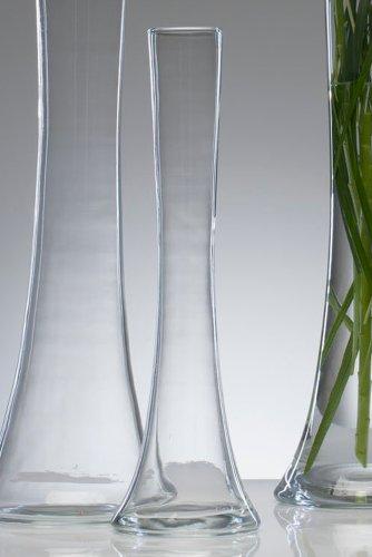 Glass Vase Big Solifleur X Hot Cut 40cm Amazon Co Uk Kitchen Home