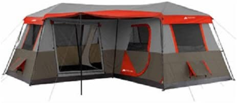 Oztrail camping tent with AC port