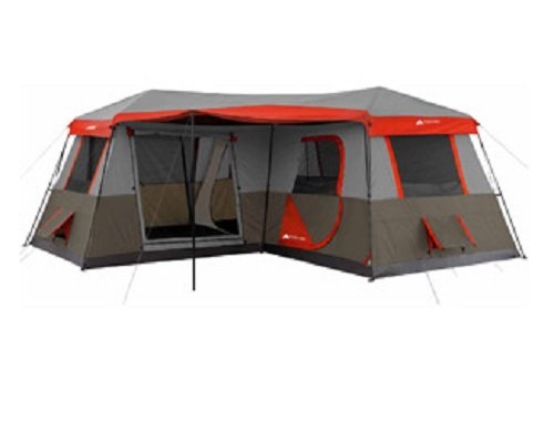 Amazon Ozark Trail 16x16 Feet 12 Person 3 Room Instant Cabin Tent With Pre Attached Poles Sports Outdoors