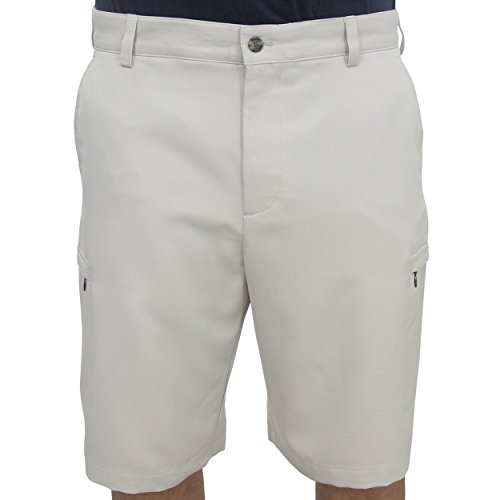 IZOD Golf Flat Front Solid Cargo Shorts, 38
