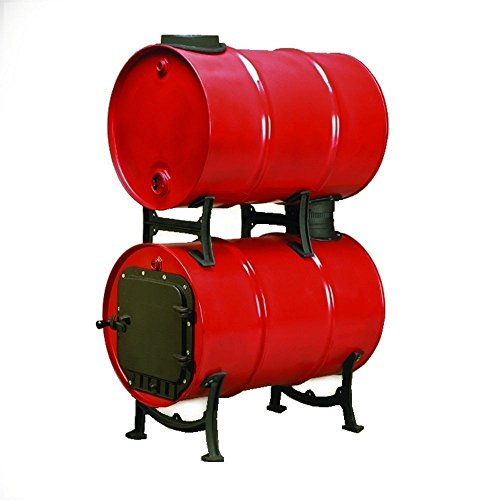 wood barrel stove kit - 2