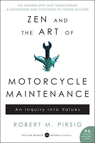 Zen and the Art of Motorcycle Maintenance: An Inquiry Into Values (Best Motivational Novels By Indian Authors)