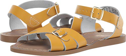 Salt Water Sandals by Hoy Shoes Girl's Classic (Little Kid) Mustard 3 M US Little Kid
