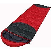 LJ&L Outdoor envelopes camping sleeping bags, adult couples can be spliced sleeping bags, outdoor hiking hiking warm thickening sleeping bags