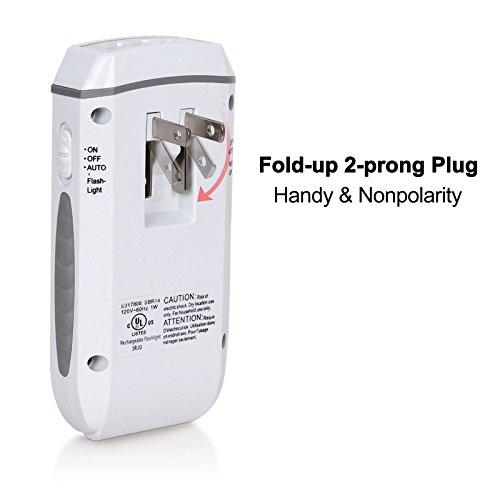 Dewenwils Rechargeable Led Emergency Flashlight Portable