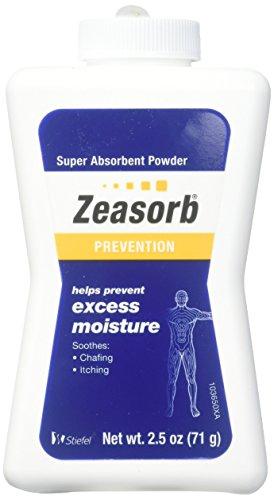 Excess Moisture - ZEASORB Powder 2.5 OZ (3 Pack)