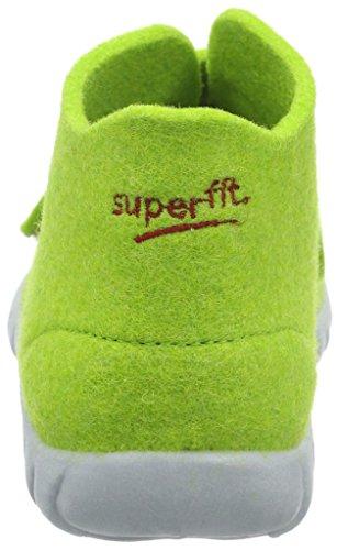 Superfit Happy - Zapatilla de estar Por casa Niños Verde - Grün (Grün 09)