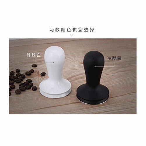 MagiDeal 2 Colors 58mm Coffee Tamper For Italian Espresso Machine Coffee Bean Press