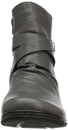Easy Street Women's Questa Ankle Bootie Grey zsdlu6d