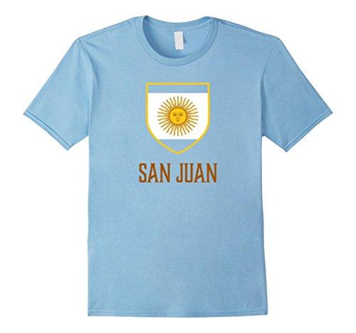 Men's San Juan, Argentina - Argentino Shirt Small Baby Blue