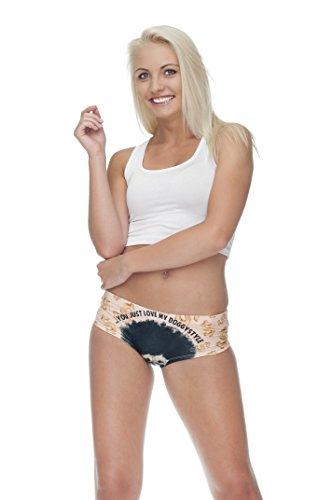 Las niñas de la mujer ropa interior calzoncillos Slip Hipster bragas Teenage Fashion braga tamaño de los pantalones 810 DOGGYSTYLE