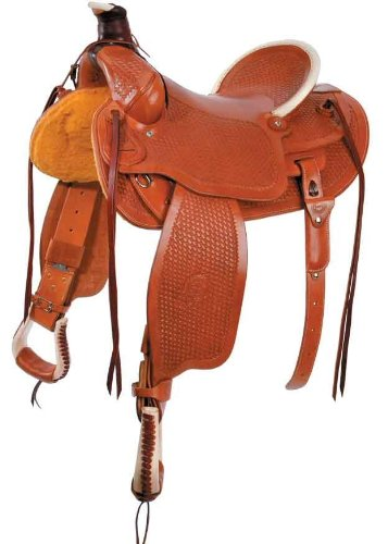 Colorado Saddlery Continental Divide Stockman High Cantle Saddle Dark Oil 17 Inch Seat