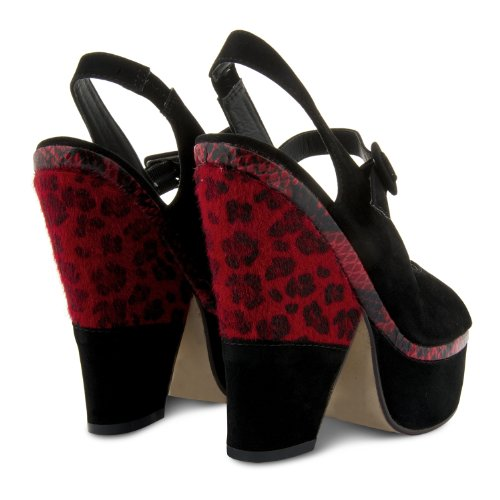Footwear Sensation - Zapatos de vestir de sintético para mujer rojo - rojo