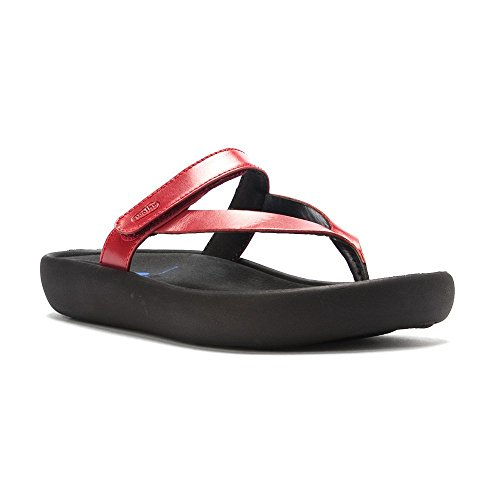 Leather Smooth Womens Wolky Sandals Red Jewel 3204 ztAwROqP
