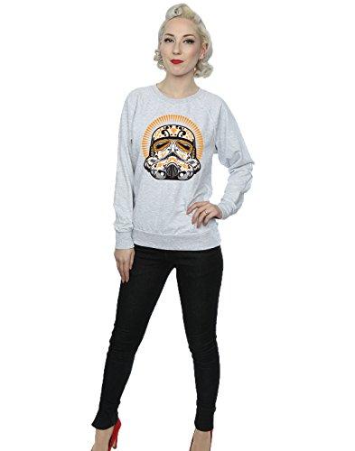Star De Entrenamiento Muertos Mujer Wars Cuero Gris Stormtrooper Camisa Los Dia rwxgarBq