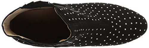 Qupid Women's Skipper-03 Fashion Boot Black OEQQfHL